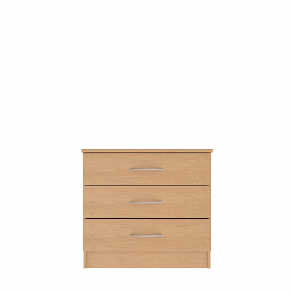 Brampton 3 Drawer Wide Chest