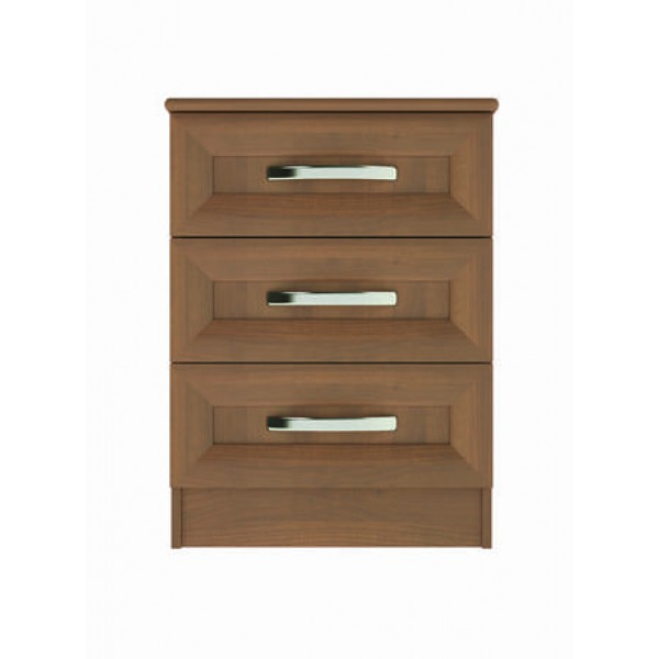 Harrogate 3 Drawer Bedside Cupboard
