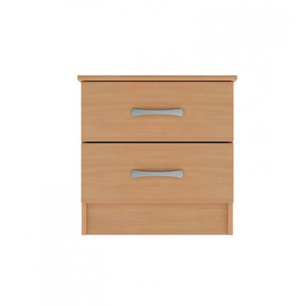 Moreland 2 Drawer Bedside Cupboard