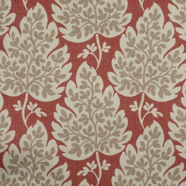 Pencil Pleat Curtains Cassley Red