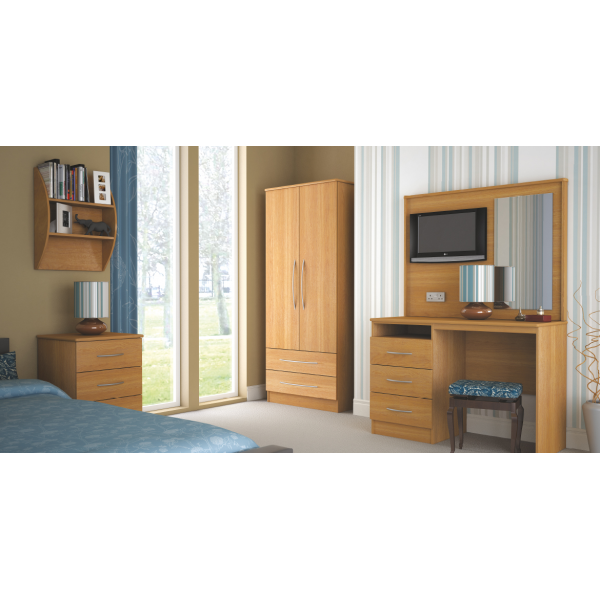 Brampton 3 Drawer Bedside